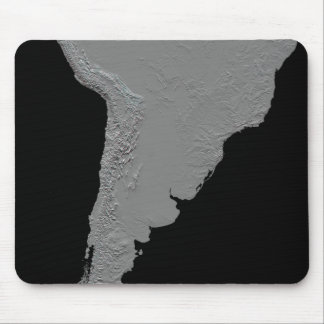 Stereoscopic view of South America Mouse Pad