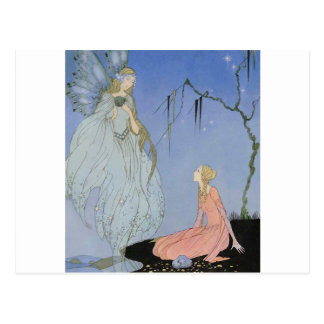 Sterett's Old French Fairy Tales 1919-1920 Postcard