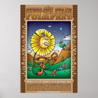 Sterling Folk Fest 09outlined Poster