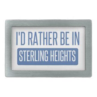 Sterling Heights Belt Buckle