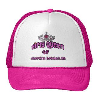 "Sterling Heights Michigan ""Girly Queen!"" Trucker Hat"