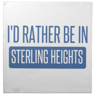 Sterling Heights Napkin