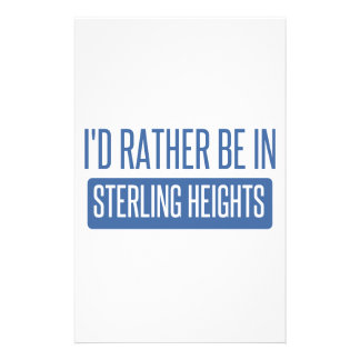 Sterling Heights Stationery