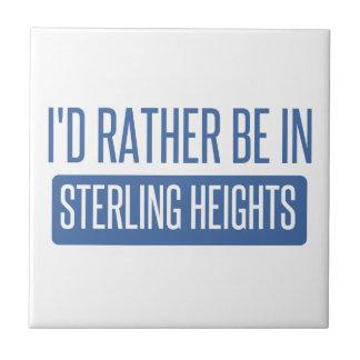 Sterling Heights Tile