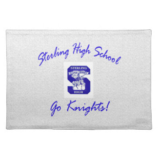 Sterling High Go Knights Logo I Placemat