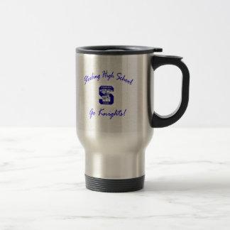 Sterling High Go Knights Logo I Travel Mug II