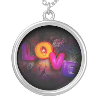 Sterling Silver LOVE Pendant
