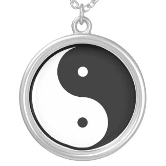 Sterling Silver Yin Yang Necklace