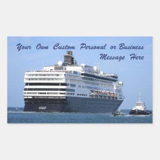 Stern and Starboard Cruising Away Custom Sticker