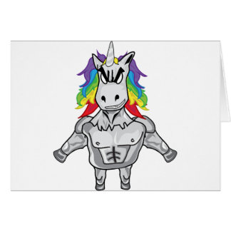 Steroid Unicorn Card