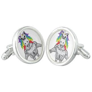 Steroid Unicorn Cuff Links