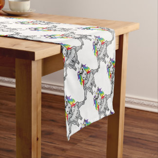 Steroid Unicorn Short Table Runner