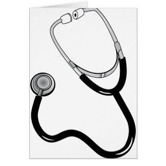 Stethoscope Card