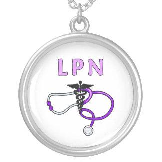 Stéthoscope de LPN Pendentif Rond