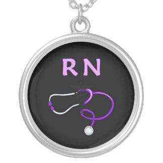 Stéthoscope de RN Pendentif Rond