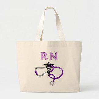 Stéthoscope de RN d'infirmières Sac En Toile Jumbo