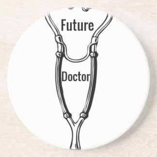 Stethoscope Design For Aspiring Doctors Coaster