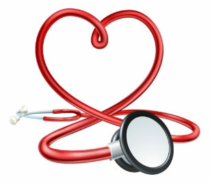 c543caff54d63 Stethoscope In Heart Shape Clothing - Apparel, Shoes & More | Zazzle CA