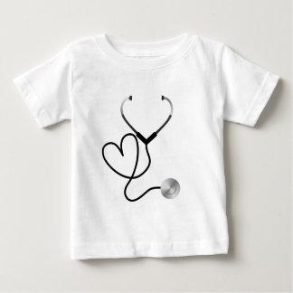 Stethoscope Heart Baby T-Shirt
