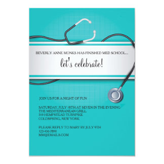 Stethoscope Invitations