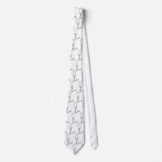 Stethoscope tie