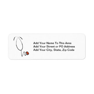 Stethoscope Tshirts and Gifts Return Address Label