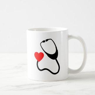 Stethoscope With Heart Coffee Mug