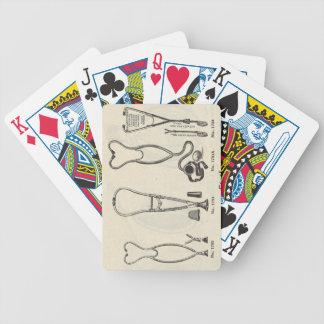 Stethoscopes Poker Deck