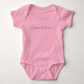 Steve Adrain... Baby Bodysuit