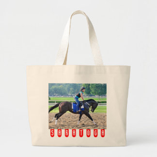Steve Asmussen Workouts at Saratoga Bags