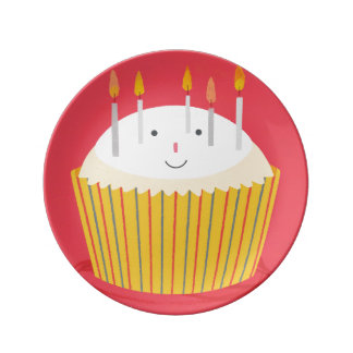 Steve Cupcake Plate