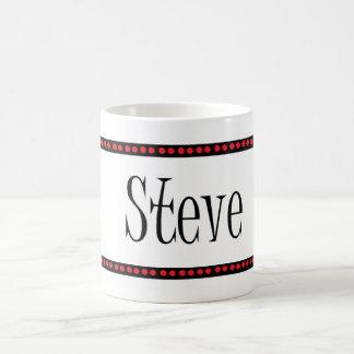 Steve name coffee mug