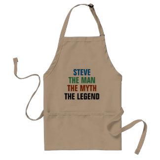 Steve the man, the myth, the legend standard apron