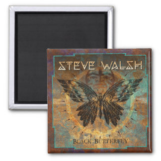 Steve Walsh Black Butterfly Magnet