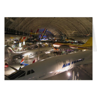 Steven F. Udvar-Hazy Center Card