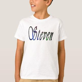 Steven Name Logo, T-Shirt