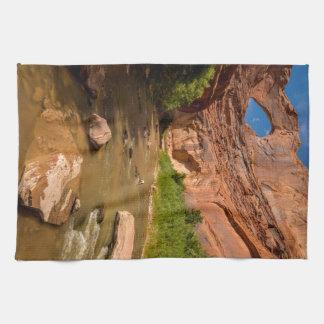 Stevens Arch - Escalante River - Utah Towel