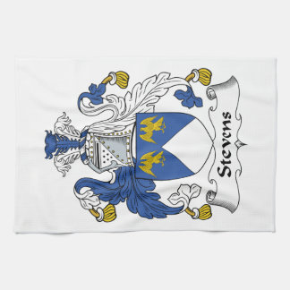 Stevens Family Crest Kitchen Towel