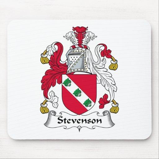 Stevenson Family Crest Mouse Mats