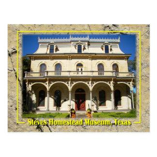 Steves Homestead Museum, San Antonio, TX Postcard