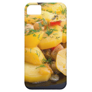 Stew of potatoes with onion, bell pepper and dill iPhone 5 covers