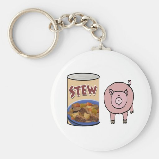 stew-pig key chain