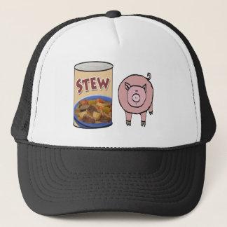 stew-pig trucker hat