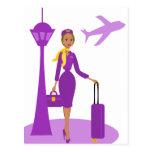 Steward (hôtesse de l'air) fabuleux cartes postales