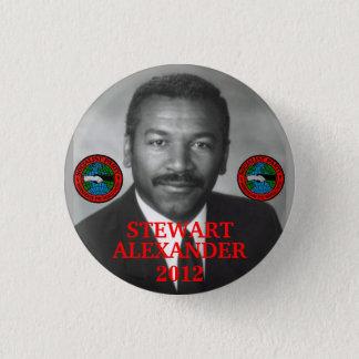 Stewart Alexander 2012 1 Inch Round Button