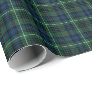 Stewart Clan Hunting Tartan Wrapping Paper
