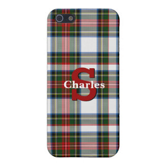 Stewart Dress Plaid Custom iPhone 5S Case