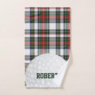 Stewart Dress Tartan Plaid Golf Towel