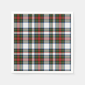 Stewart Dress Tartan Plaid Paper Napkins