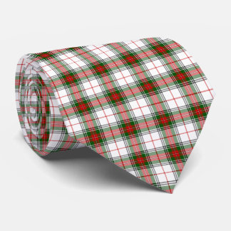 Stewart Festive King George Tartan Plaid Neck Tie